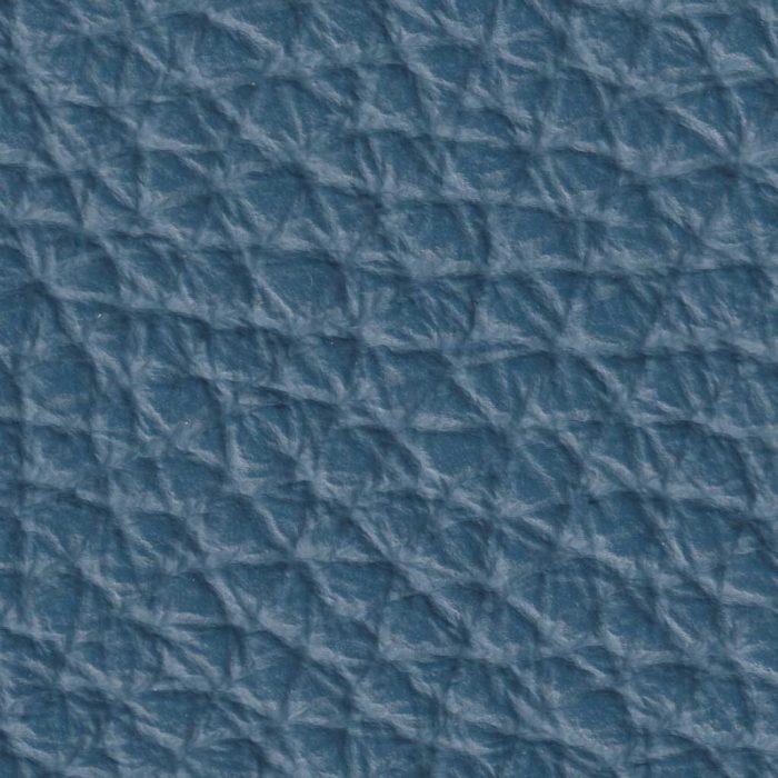 Cuir Grainé - Bleu Gentian