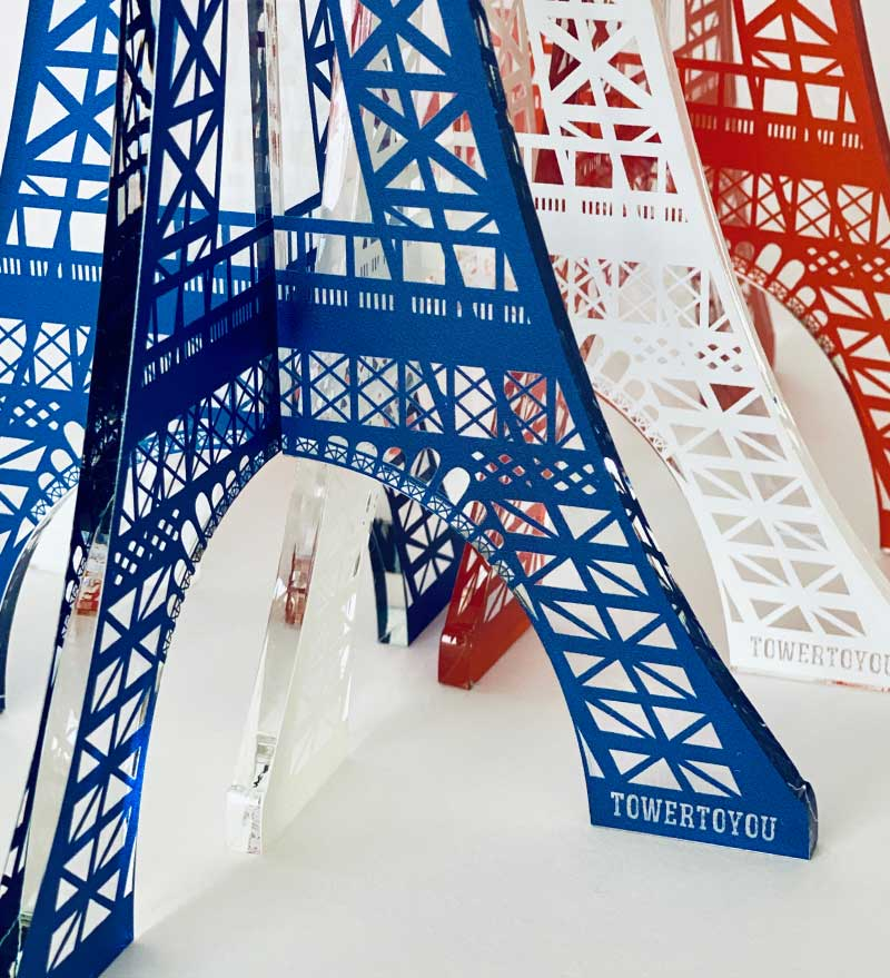 Tour Eiffel Cristal Made in France