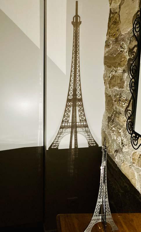 Tour Eiffel Design - Ombre Mur